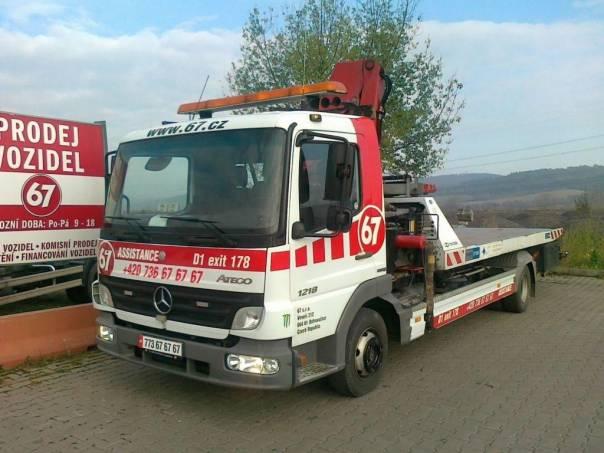 Mercedes-Benz  odtahovka, foto 1 Užitkové a nákladní vozy, Nad 7,5 t | spěcháto.cz - bazar, inzerce zdarma