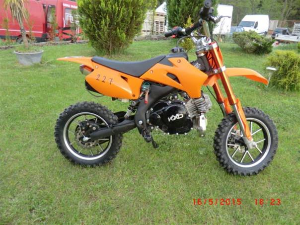 KXD 50 4takt, elektrostarter, foto 1 Auto – moto , Motocykly a čtyřkolky | spěcháto.cz - bazar, inzerce zdarma