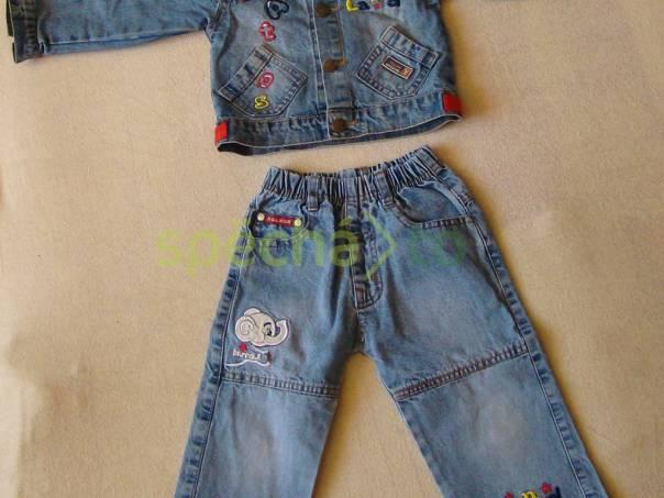 džíny a džíska bunda a kalhoty , foto 1 Pro děti, Dětské oblečení  | spěcháto.cz - bazar, inzerce zdarma