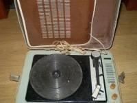 Starý kufříkkový gramofon, foto 1 TV, audio, video, Hudební přehravače | spěcháto.cz - bazar, inzerce zdarma