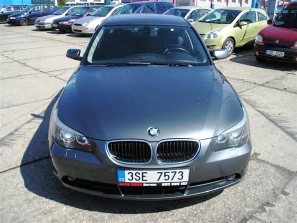 BMW Řada 5 520i TIPTRONIK KLIMATRONIK, foto 1 Auto – moto , Automobily | spěcháto.cz - bazar, inzerce zdarma