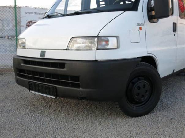 Fiat Ducato 2.8 TDi 18 6 MÍST,VALNÍK, foto 1 Užitkové a nákladní vozy, Do 7,5 t | spěcháto.cz - bazar, inzerce zdarma