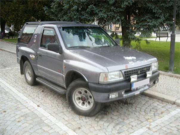 Opel Frontera SPORT 4X4  2,0, foto 1 Auto – moto , Automobily | spěcháto.cz - bazar, inzerce zdarma