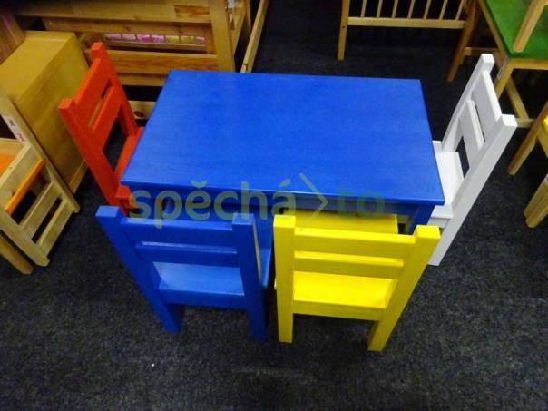 barevný dětský nábytek, foto 1 Pro děti, Dětský nábytek | spěcháto.cz - bazar, inzerce zdarma