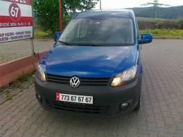 Volkswagen Caddy 2.0 CNG zemní plyn