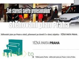 Stěhování pian po Praze i mimo Prahu , Obchod a služby, Přeprava, stěhování  | spěcháto.cz - bazar, inzerce zdarma