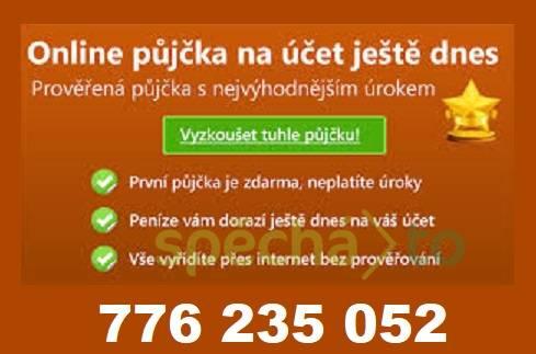 Půjčka ihned , foto 1 Obchod a služby, Finanční služby | spěcháto.cz - bazar, inzerce zdarma