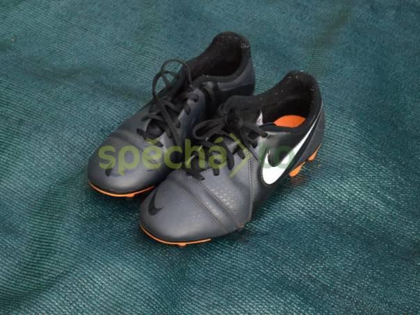 d9a2a239141e0 Fotbalové kopačky Nike, nové, barva šedivá, oranžová, velikost 41    spěcháto.cz - bazar, inzerce zdarma