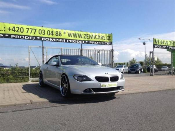 BMW Řada 6 645ci, R-22 ALU, foto 1 Auto – moto , Automobily | spěcháto.cz - bazar, inzerce zdarma