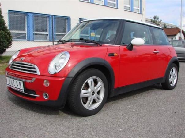 Mini Cooper ONE 1,6i Klima,ALU,SuperStav, foto 1 Auto – moto , Automobily | spěcháto.cz - bazar, inzerce zdarma