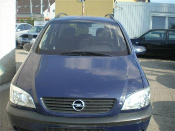 Opel Zafira 1.6 16V, foto 1 Auto – moto , Automobily | spěcháto.cz - bazar, inzerce zdarma