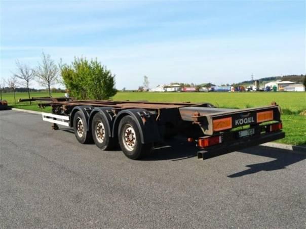 SWCT 24P kontejnerové šasí, foto 1 Užitkové a nákladní vozy, Přívěsy a návěsy | spěcháto.cz - bazar, inzerce zdarma
