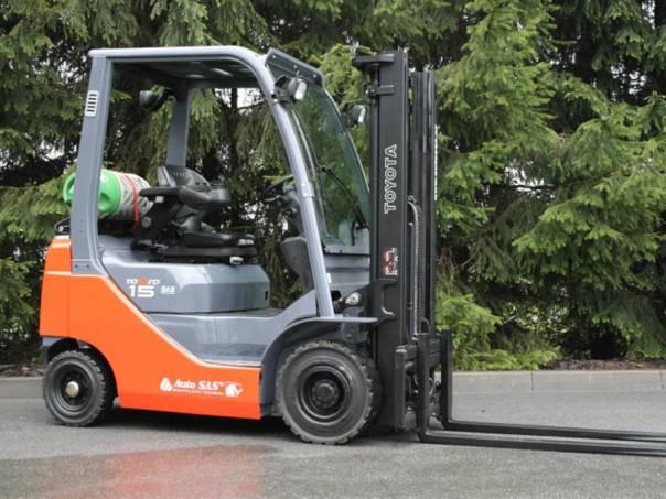 02 8FGF15 (PS1247), foto 1 Pracovní a zemědělské stroje, Vysokozdvižné vozíky | spěcháto.cz - bazar, inzerce zdarma
