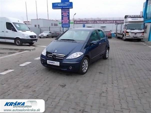 Mercedes-Benz Třída A 2.0CDi 200 CDi Automat, foto 1 Auto – moto , Automobily | spěcháto.cz - bazar, inzerce zdarma