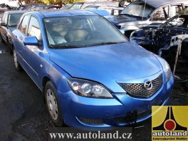Mazda 3 1,6, foto 1 Náhradní díly a příslušenství, Ostatní | spěcháto.cz - bazar, inzerce zdarma