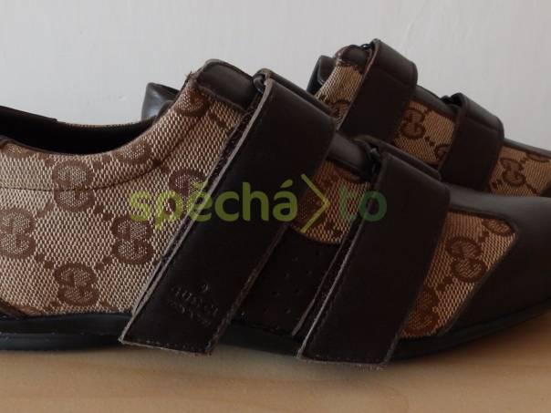 2966781dbb Krásné nové kožené boty Gucci
