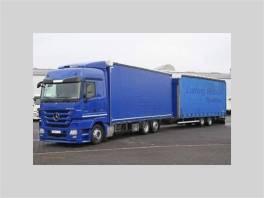 ACTROS 2544 LnR Jumbo , Užitkové a nákladní vozy, Nad 7,5 t  | spěcháto.cz - bazar, inzerce zdarma