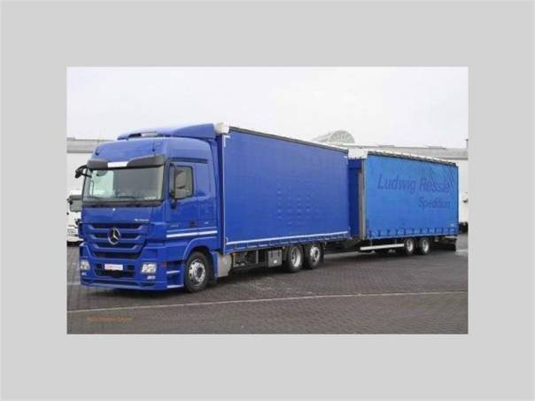 ACTROS 2544 LnR Jumbo, foto 1 Užitkové a nákladní vozy, Nad 7,5 t | spěcháto.cz - bazar, inzerce zdarma