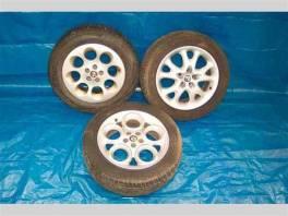 Alfa Romeo 156 AL kola+plechove disky , Náhradní díly a příslušenství, Ostatní  | spěcháto.cz - bazar, inzerce zdarma