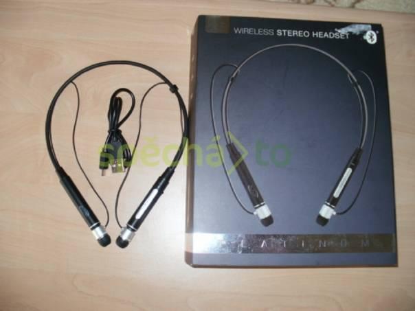 Bezdrátové stereo sluchátka s mikrofonem., foto 1 TV, audio, video, Reprosoustavy, sluchátka | spěcháto.cz - bazar, inzerce zdarma