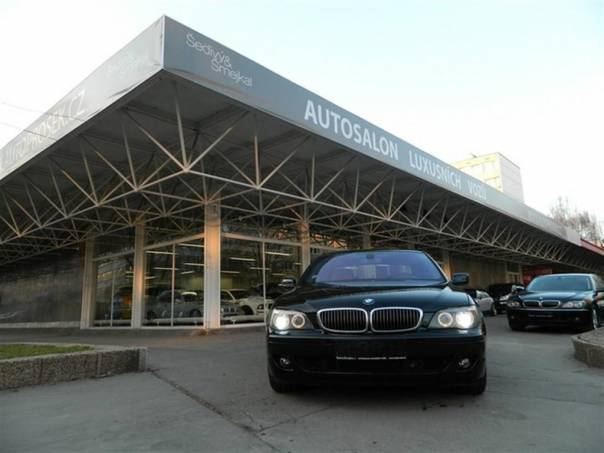 BMW Řada 7 750Li INDIVIDUAL-NÁDHERNÝ KUS, foto 1 Auto – moto , Automobily | spěcháto.cz - bazar, inzerce zdarma