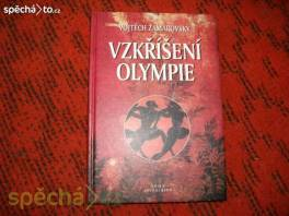 Kniha VZKŘÍŠENÍ OLYMPIE - Vojtěch Zamarovský