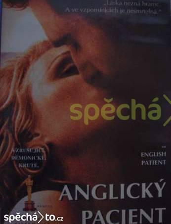 Anglický pacient, foto 1 Hobby, volný čas, Filmy | spěcháto.cz - bazar, inzerce zdarma