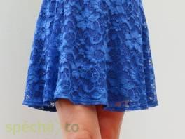 Královsky modrá skater sukně Asos vel.38 , Dámské oděvy, Sukně, šaty  | spěcháto.cz - bazar, inzerce zdarma