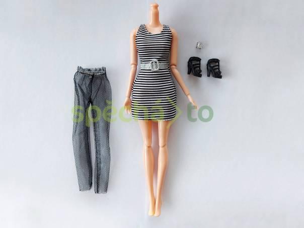 NOVÉ! Set pro panenku Barbie, šaty + silonky + boty + náramek , foto 1 Pro děti, Hračky | spěcháto.cz - bazar, inzerce zdarma