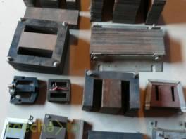 Transformátorové plechy, měděné dráty
