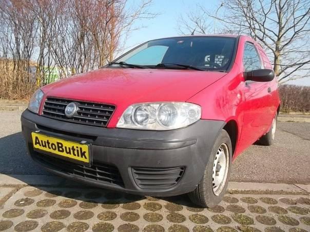 Fiat Punto 1.2 Van, foto 1 Užitkové a nákladní vozy, Do 7,5 t | spěcháto.cz - bazar, inzerce zdarma