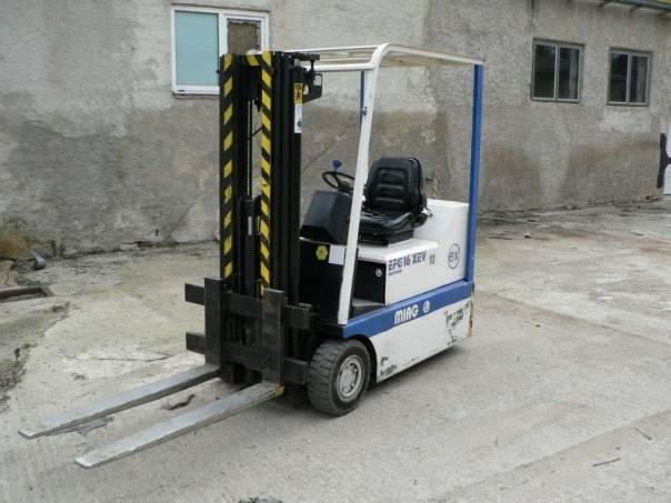 Destas  MIAG EFG 16 XEV, foto 1 Pracovní a zemědělské stroje, Vysokozdvižné vozíky | spěcháto.cz - bazar, inzerce zdarma