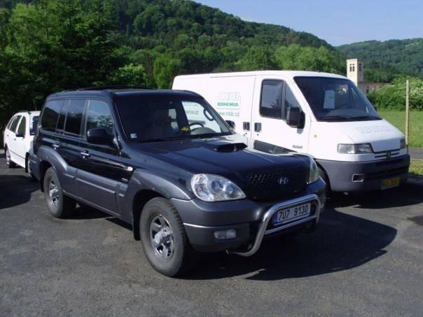 Hyundai Terracan 2,9 CRDi, foto 1 Auto – moto , Automobily | spěcháto.cz - bazar, inzerce zdarma