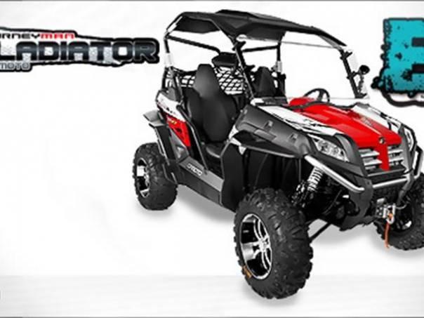 Journeyman  Gladiator Z6 EFI EX, foto 1 Auto – moto , Motocykly a čtyřkolky | spěcháto.cz - bazar, inzerce zdarma