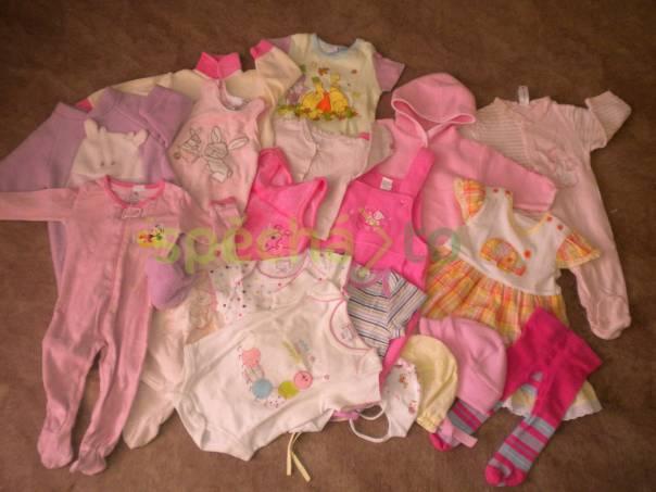 Balík oblečení pro holčičku 0 - 3 měsíce  37b75608bb