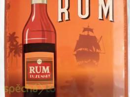 Plechová cedule: Rum - 30x40 cm , Bydlení a vybavení, Doplňky  | spěcháto.cz - bazar, inzerce zdarma