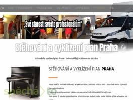 Levné stěhování a vyklízení pian Praha , Obchod a služby, Přeprava, stěhování  | spěcháto.cz - bazar, inzerce zdarma