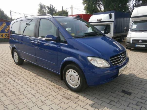 Mercedes-Benz Viano 115CDI A/C CZ 1.MAJITEL SERVIS-MB, foto 1 Užitkové a nákladní vozy, Autobusy | spěcháto.cz - bazar, inzerce zdarma