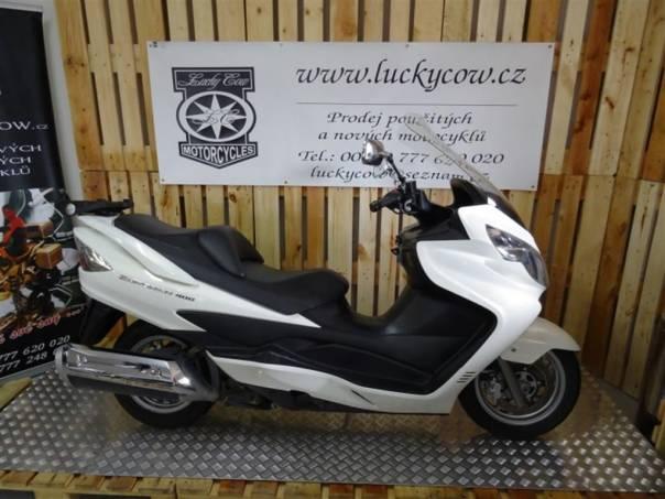 Suzuki AN Burgman 400-TOP, foto 1 Auto – moto , Motocykly a čtyřkolky | spěcháto.cz - bazar, inzerce zdarma