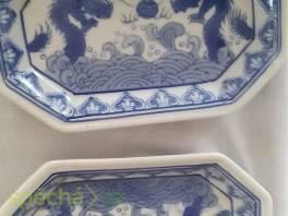dvě staré, malé misky s čínskou malbou , Hobby, volný čas, Sběratelství a starožitnosti  | spěcháto.cz - bazar, inzerce zdarma