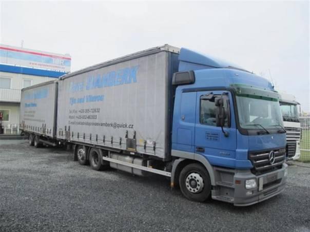 ACTROS 2544 + vlek KÖGEL 120cm, foto 1 Užitkové a nákladní vozy, Nad 7,5 t | spěcháto.cz - bazar, inzerce zdarma