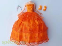 NOVÉ! Set pro panenku Barbie, šaty+boty+korunka , Pro děti, Hračky  | spěcháto.cz - bazar, inzerce zdarma