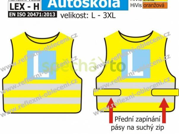 Reflexní vesta LEX Autoškola, foto 1 Pánské oděvy, Bundy, saka, kabáty | spěcháto.cz - bazar, inzerce zdarma