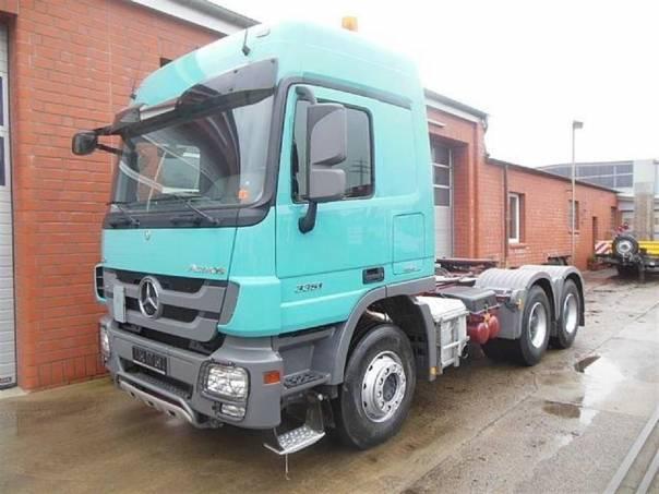 ACTROS 3351 S 6x4 s hydrauliko, foto 1 Užitkové a nákladní vozy, Nad 7,5 t | spěcháto.cz - bazar, inzerce zdarma
