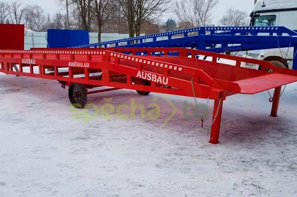 Mobilné nájezdové rampy AUSBAU pro sklady , foto 1 Náhradní díly a příslušenství, Užitkové a nákladní vozy | spěcháto.cz - bazar, inzerce zdarma