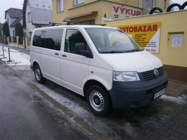Volkswagen Transporter T5 2,5 TDI, foto 1 Auto – moto , Automobily | spěcháto.cz - bazar, inzerce zdarma