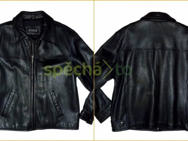 Pánská kožená bunda Guess ve velikosti L 290d67060c9