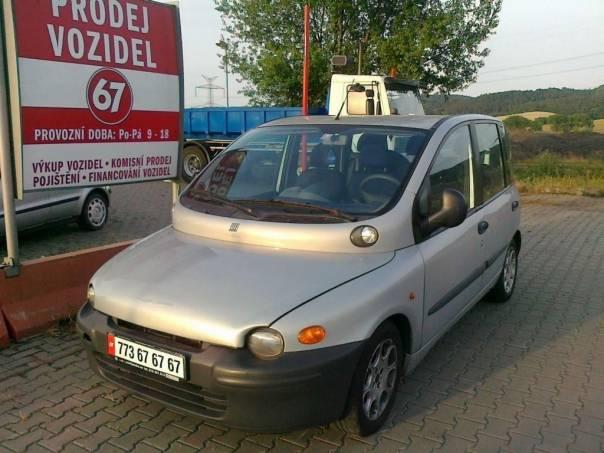 Fiat Multipla JTD vyhořelé, foto 1 Auto – moto , Automobily | spěcháto.cz - bazar, inzerce zdarma