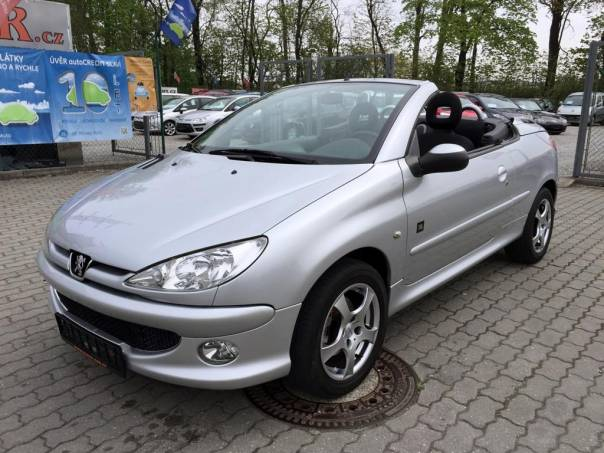 Peugeot 206 CC 1.6i klima, servisní knížka, foto 1 Auto – moto , Automobily | spěcháto.cz - bazar, inzerce zdarma