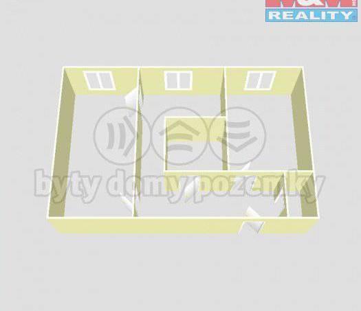 Prodej bytu 2+1, Vlašim, foto 1 Reality, Byty na prodej | spěcháto.cz - bazar, inzerce